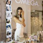 "Alessandra Ambrosio invitada de honor a la "" Noche de Oro "" en la casa Omega"