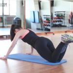 Rutina de ejercicio para tonificar el pecho