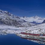 ¿Amas la nieve? Los mejores paisajes en tren: Suiza