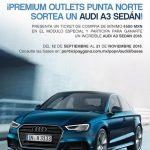 Gana un Audi A3 Sedán con Premium Outlets Punta Norte