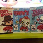Freddy, Jason y Pennywise tienen nuevos cereales para Halloween