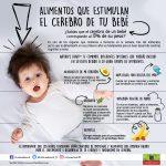 Alimentos que estimulan el cerebro de tu bebé