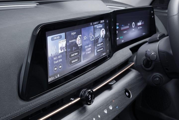 Interior de Nissan Ariya