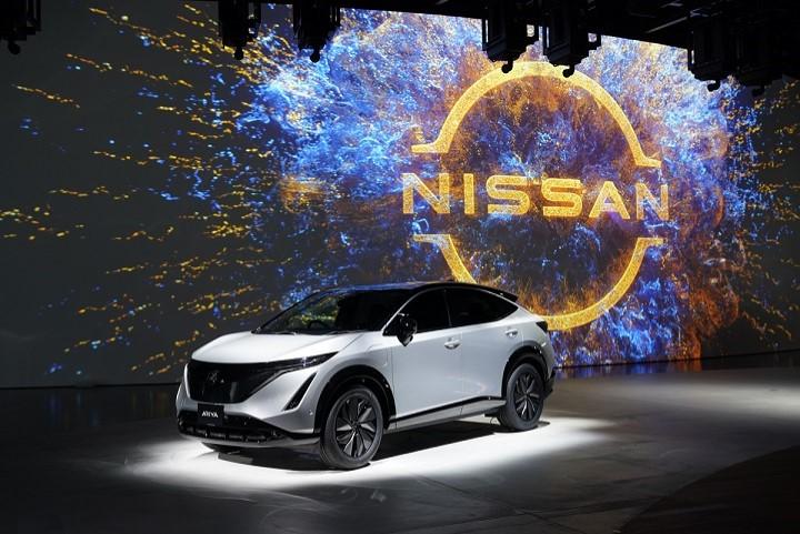 Presentación del Nissan Ariya en Yokohama