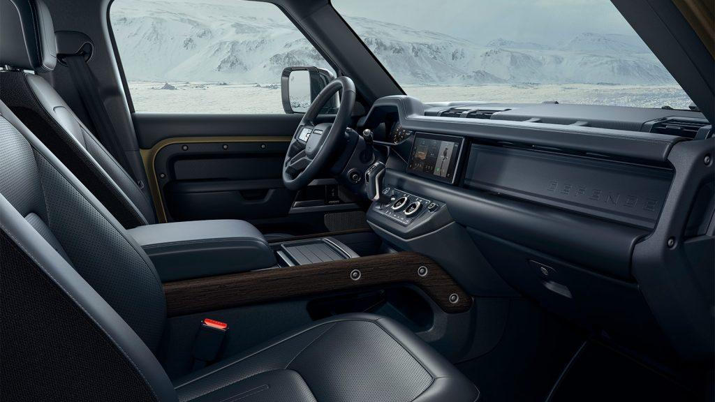 Interior Land Rover Defender 2020