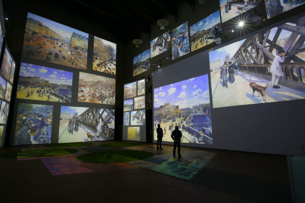 miniseire de Monet exposición