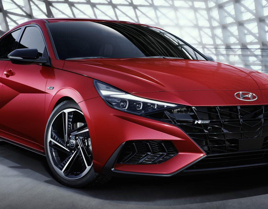 Hyundai Elantra N Frente