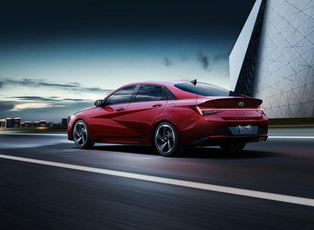 Hyundai Elantra fastback