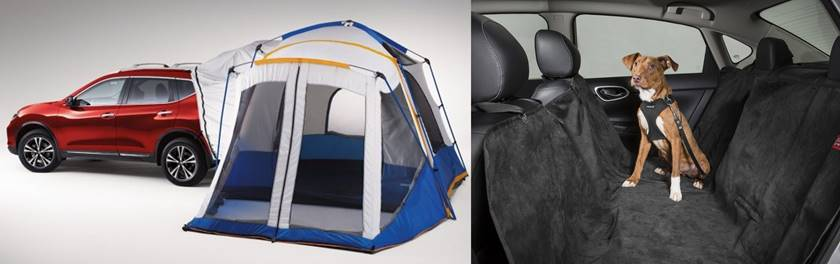 Nissan X-Trail casa de acampar e interior