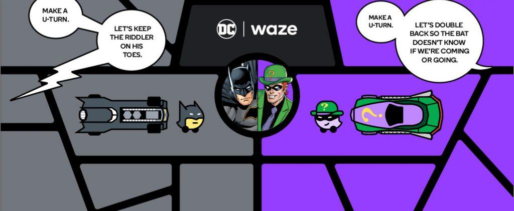 Batman Waze