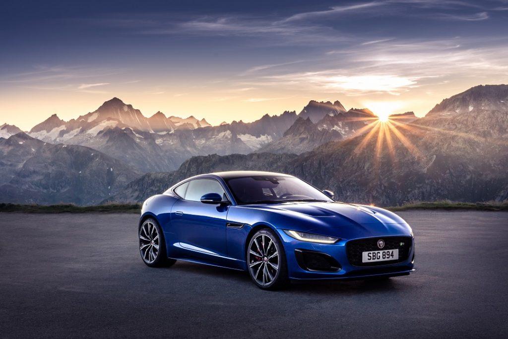 Presentación Jaguar F-Type 2021