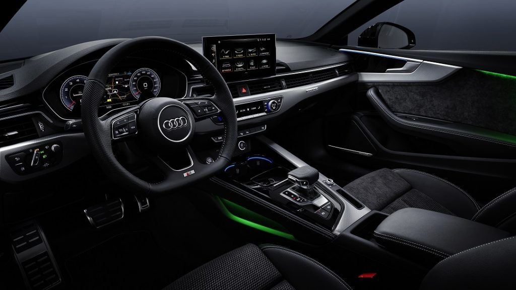 Interior A5 Coupé