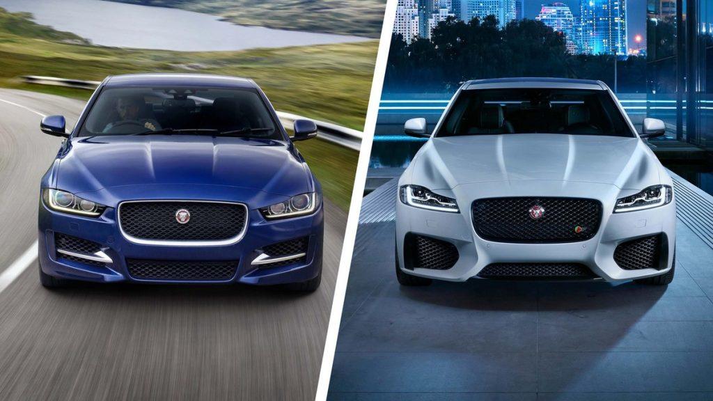 Jaguar XE y XF