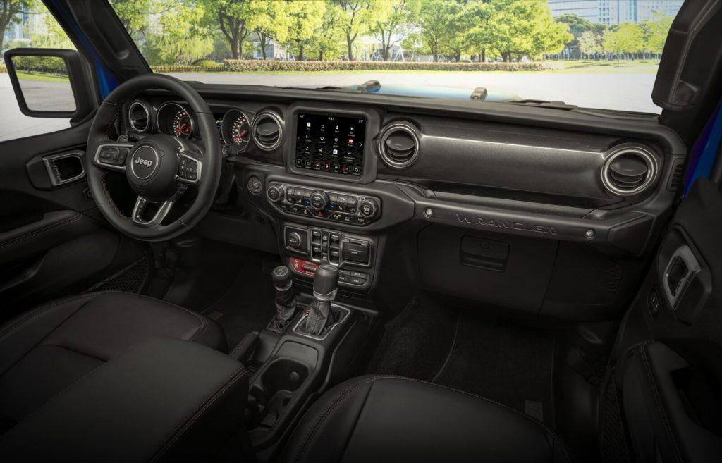 Interior Jeep
