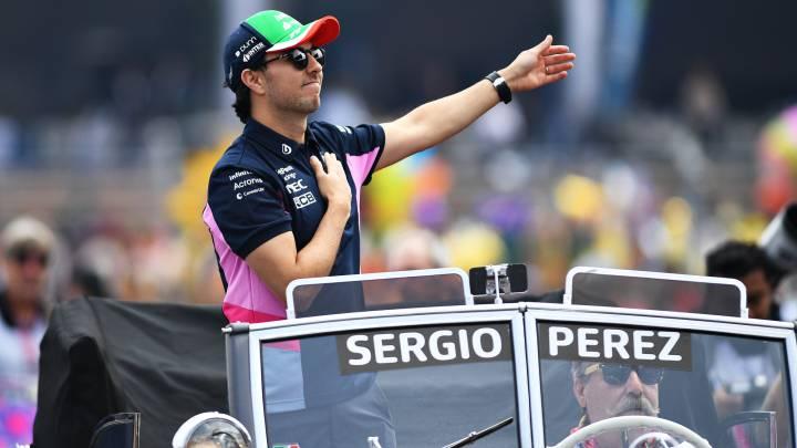 Sergio Perez México