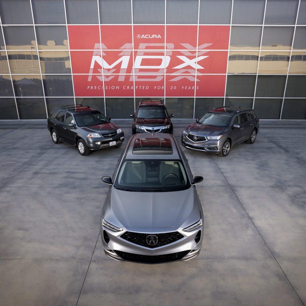 Historia Acura MDX