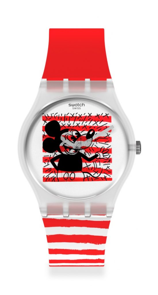 Swatch y Disney Mickey Mouse X Keith Haring