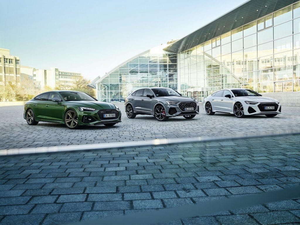 Familia Audi RS