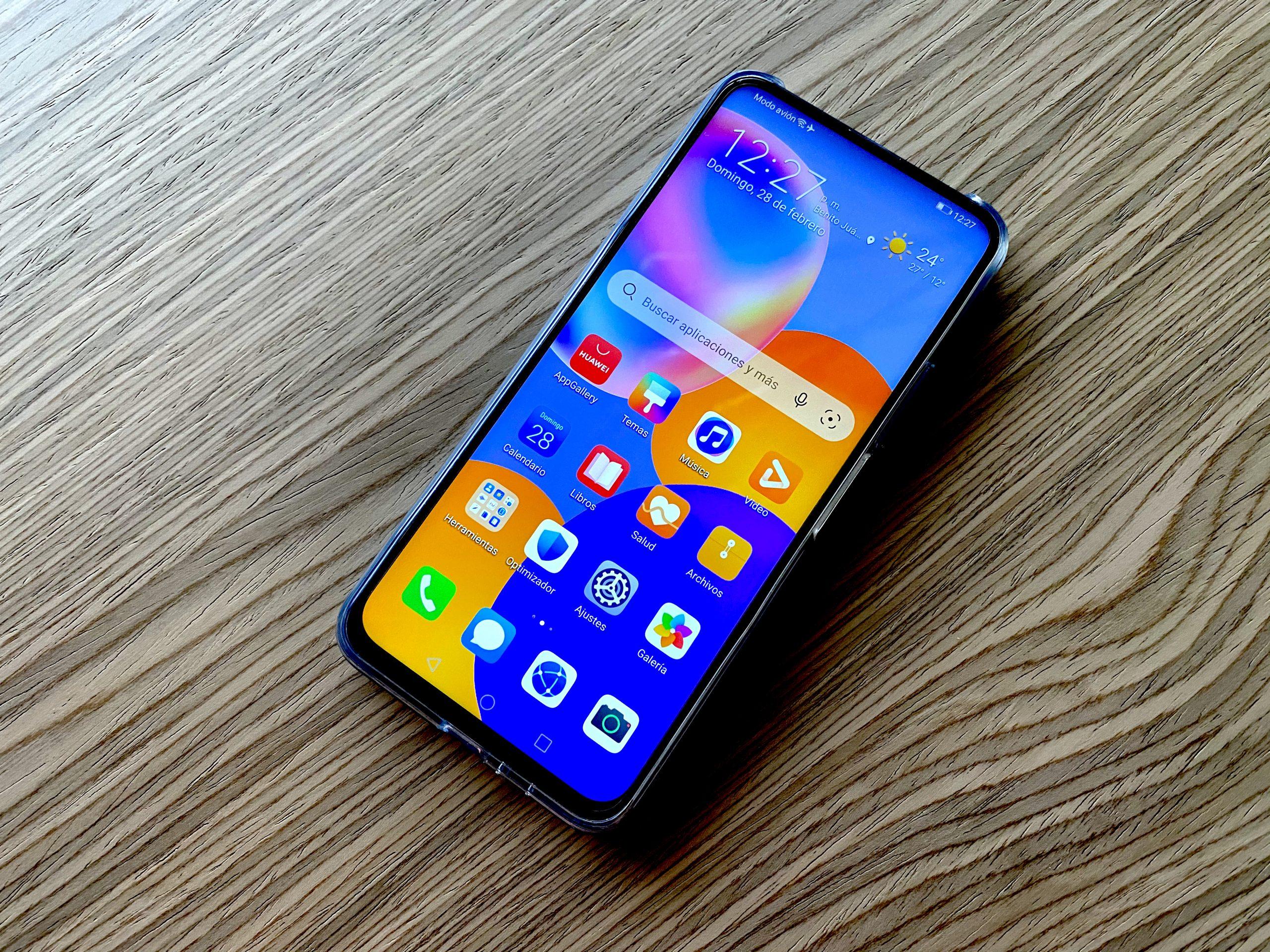 Huawei Y9a portada