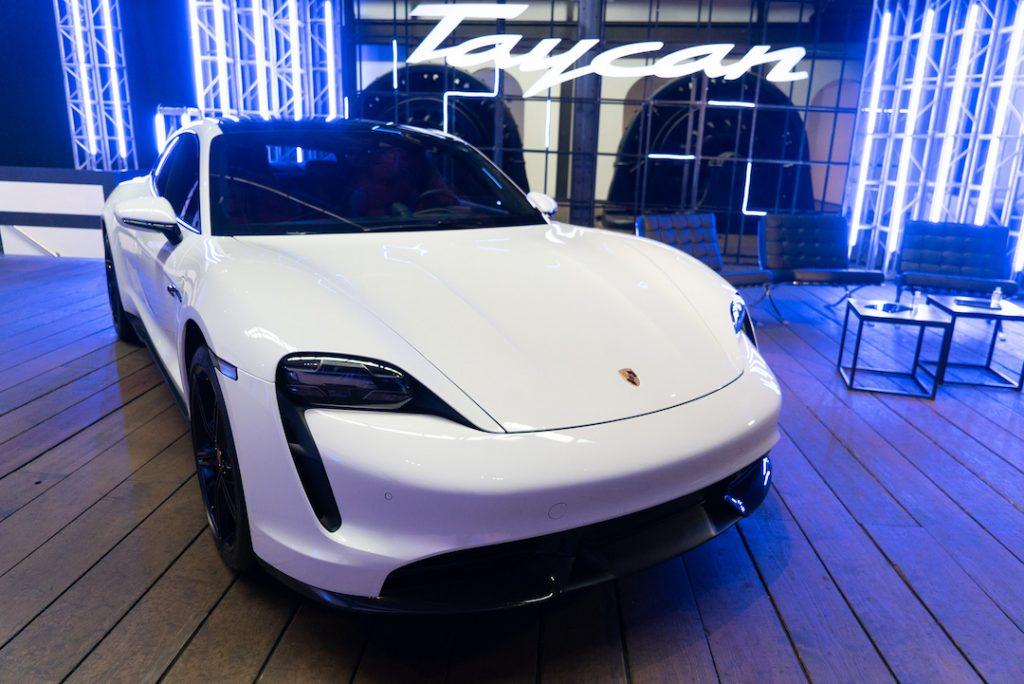 Taycan de Porsche ya está en México