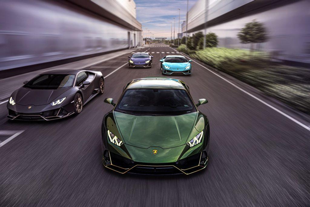 Ediciones 10 años Lamborghini México
