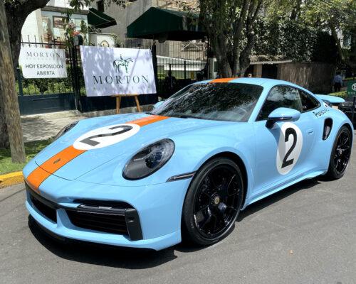 Porsche homenaje a pedro rodríguez